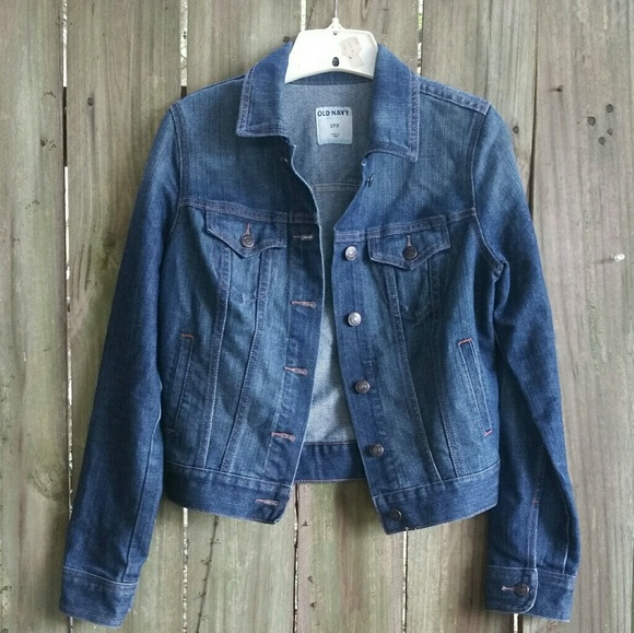 Old Navy Jackets & Blazers - Old Navy Cropped Denim Jean Jacket